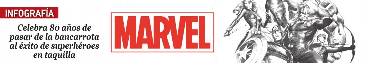 Marvel celebra 80 años de pasar de la bancarrota al éxito de superhéroes en taquilla