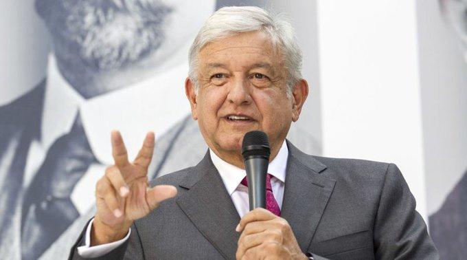 Obrador presentará plan por la pacificación
