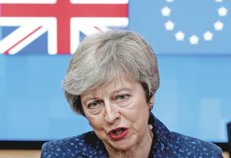 Theresa May pide nuevo plazo para negociar BREXIT