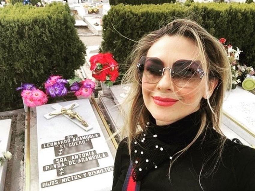 Confirma Araceli Arámbula, muerte de madre de Luis Miguel