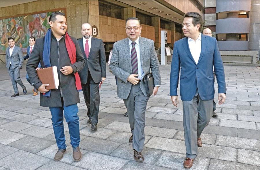 Diputados de Morena  apoyan sanear a Pemex