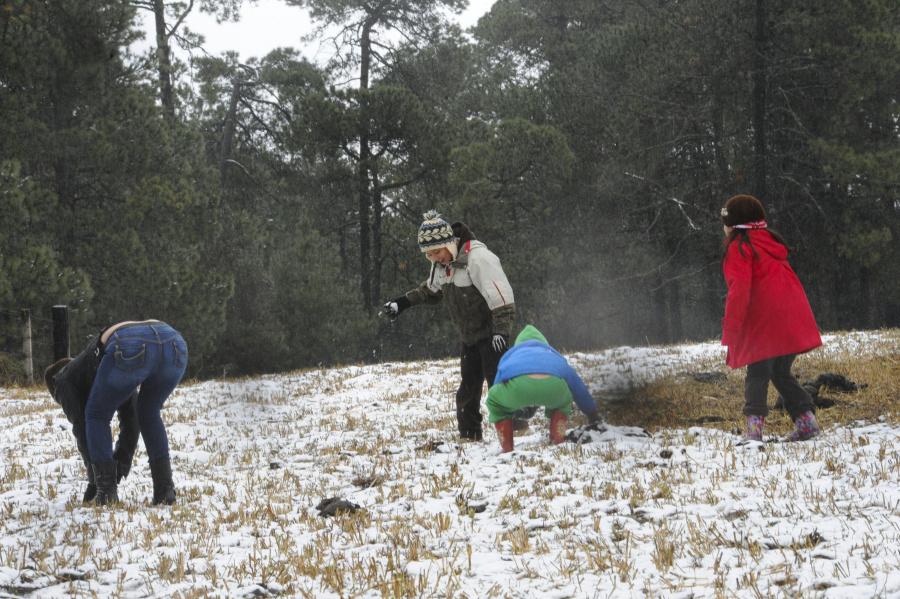 Alertan de nevadas ligeras en partes altas de CDMX