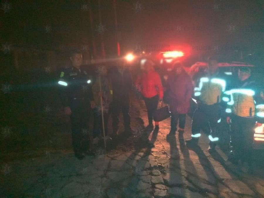 Personas extraviadas en el nevado de Toluca son rescatadas por la Secretaría de Seguridad
