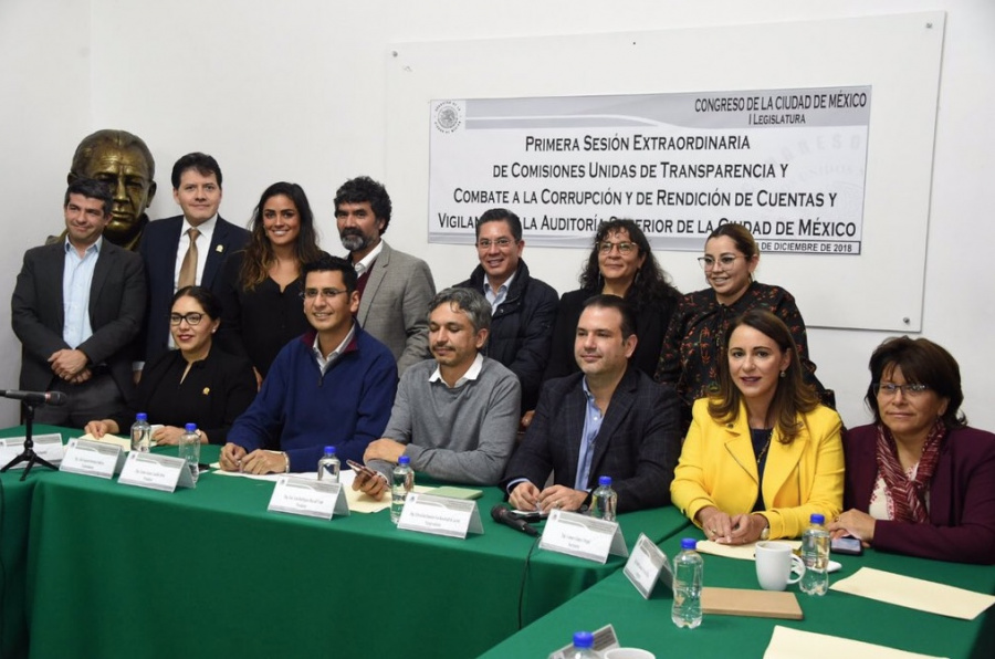 Congreso aprueba a nuevo Contralor de la CDMX