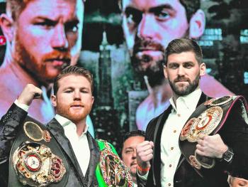 Canelo, listo para pelea de título mundial ante Fielding