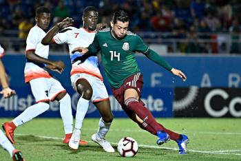 Selección Mexicana golea a Saint Martin en Premundial Sub 20