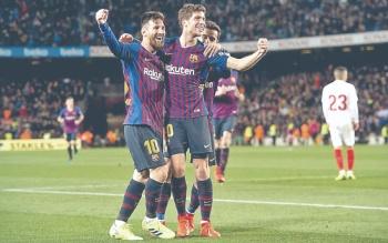 El Barca humilla al Sevilla y pasa a Semis de Copa