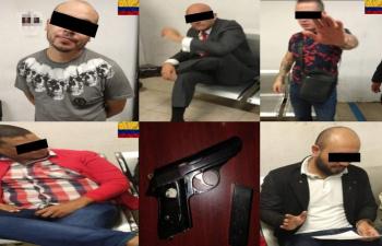 Detienen a cinco con armas y droga en alcaldía de Cuauhtémoc; tres son colombianos