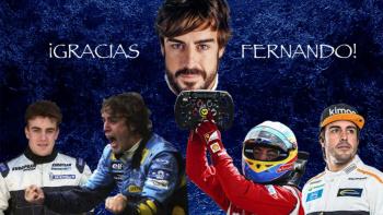 Se despide Fernando Alonso en Abu Dhabi tras la temporada 17 en la F1.