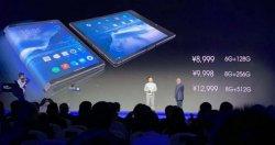 Presentan el primer celular con pantalla flexible del mundo