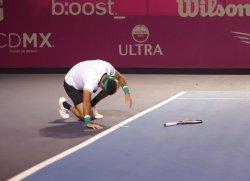 Juan Martín Del Potro se fractura rodilla, podría perder la Final de Maestros
