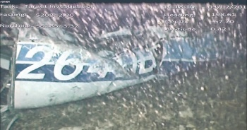 Encuentran los restos de una persona en jet de Sala