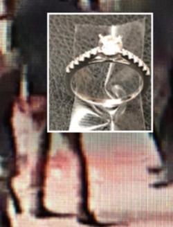 Pareja pierde anillo de compromiso en NY y policía los busca