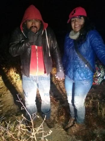 Localizan a dos personas extraviadas en el Xinantécatl, a faldas del Nevado de Toluca