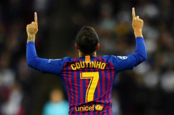 Coutinho ya entrena con el Barcelona y apunta al duelo con el Atlético