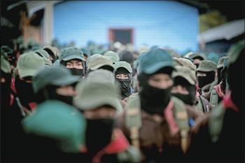 Amenaza EZLN con impedir construcción de Tren Maya