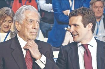 Vargas Llosa da portazo al Pen por separatistas