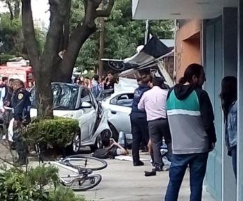 Choque en la Del Valle, deja dos mujeres muertas y un lesionado