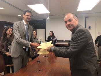 CEAV firma convenio con la Secretaría General de la Organización de los Estados Americanos