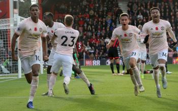 Manchester United enfrentará este domingo como local a Bournemouth