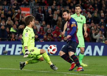 Barcelona vence al Levante en la Copa del Rey... pero esperan denuncia por alineación indebida