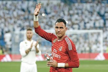 Keylor Navas renueva con el Real Madrid
