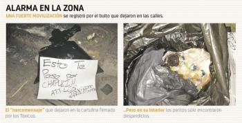 Bolsa de basura causa alerta en la SSC, PGJ…