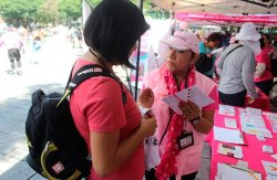 Inmujeres brinda servicios gratuitos en apoyo a mujeres con cáncer de mama