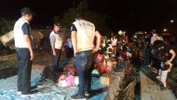 Descarrila tren en Taiwán dejando muertos y heridos
