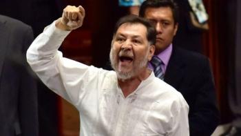 Polémico tuit de Fernández Noroña, tras la muerte de Marta Erika y Rafael Moreno