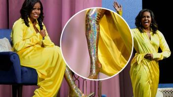 Las botas de Michelle Obama que están dando de qué hablar