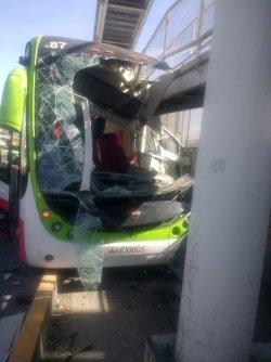 Accidente de Mexibús deja al menos 22 lesionados