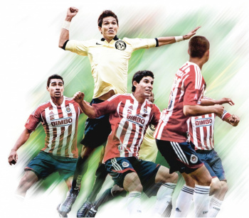 Molina, jugador 50 en vestir colores de América y Chivas