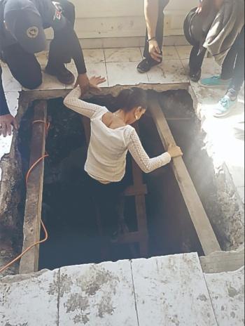 Encuentran varias tomas clandestinas en Azcapotzalco