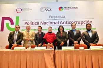 SFP llama a fortalecer el Sistema Nacional Anticorrupción
