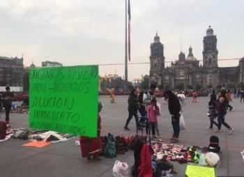 Gobierno capitalino, llega a acuerdos con indígenas por romerías