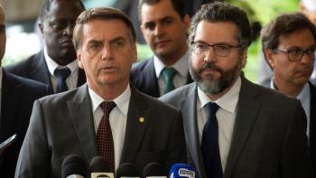 Ernesto Araújo, nuevo canciller de Bolsonaro