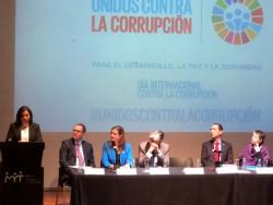 Inauguran trabajos conmemorativos con motivo del Día Internacional contra la Corrupción 2018