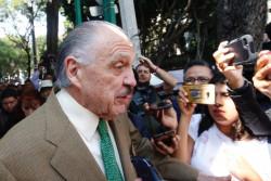 Rechaza Riobóo declaraciones de MITRE; estudios de Santa Lucía, listos en cuatro meses, asegura