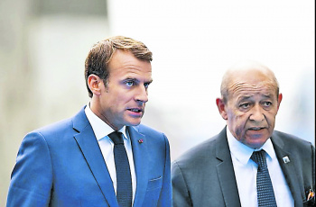 Macron y Trump se enfrentan por protesta contra gasolinazo