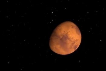 InSight tomó su primer selfie a Marte