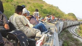 Muere migrante hondureño tras caer de un tren en Veracruz