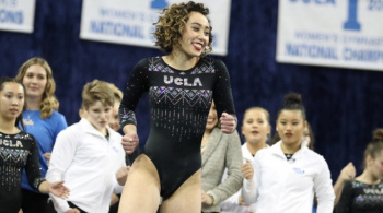 Así fue la espectacular rutina de Katelyn Ohashi (VIDEO)