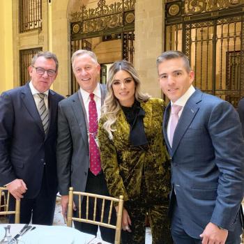 Galilea Montijo presume haber sido invitada a la recepción de toma de protesta de AMLO