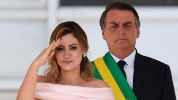 Michelle Bolsonaro, la nueva primera dama brasileña que atrapa miradas